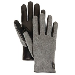 Woolback Glove With Snap