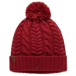 Cable Watch Cap with Pom