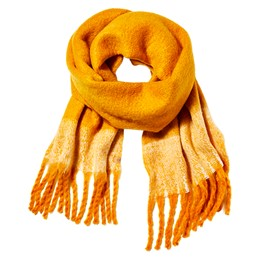 Edgewood Color Block Blanket Scarf With Fringe