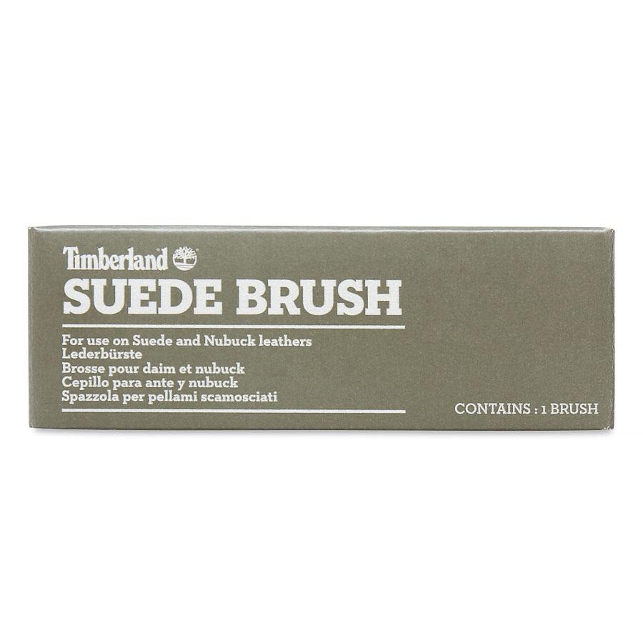 suede brush timberland