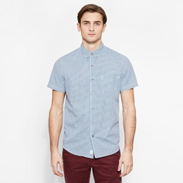 SS Suncook River Small Gingham Shirt Slim
