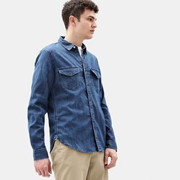 LS Mumford River Stretch Denim Shirt Slim