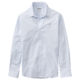LS Eastham River Stretch Poplin Elevated Stripes Shirt Regular