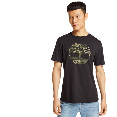 SS Kennebec River Camo Tree Tee
