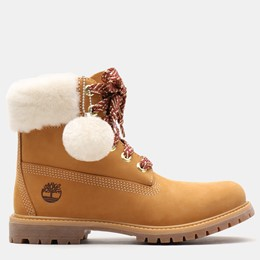 Timberland Icon Authentic Shearling Collar 6inch Waterproof Boot