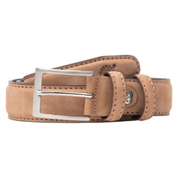 Nubuck Leather Belt