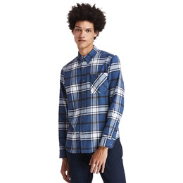 LS Back River Heavy Flannel Check Shirt Regular