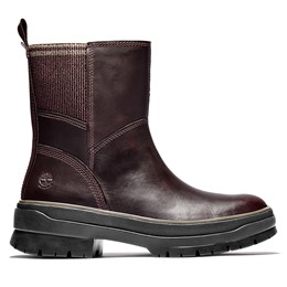 Malynn Waterproof Leather & Fabric Side Zip Boot