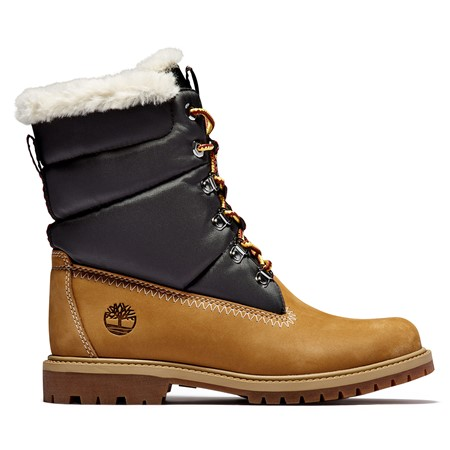 Timberland Heritage Leather & Fabric Warm Lined Boot