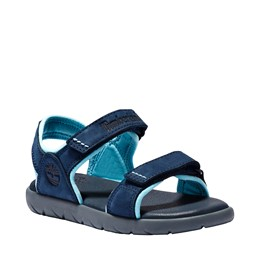 Nubble 2 Straps Leather Sandal